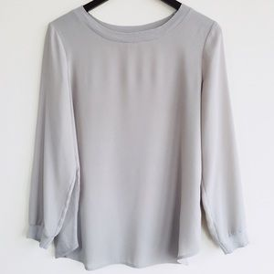BR Mixed Media Grey Longsleeve Tee